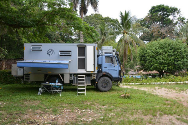 Campground in Palenque