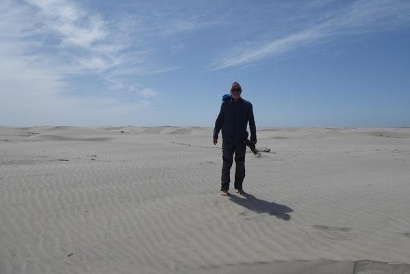 Viel Wind und Sand in San Quintin