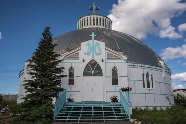 Iglu Kirche in Inuvik