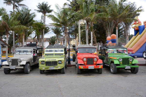 Tour Jeeps in Salento