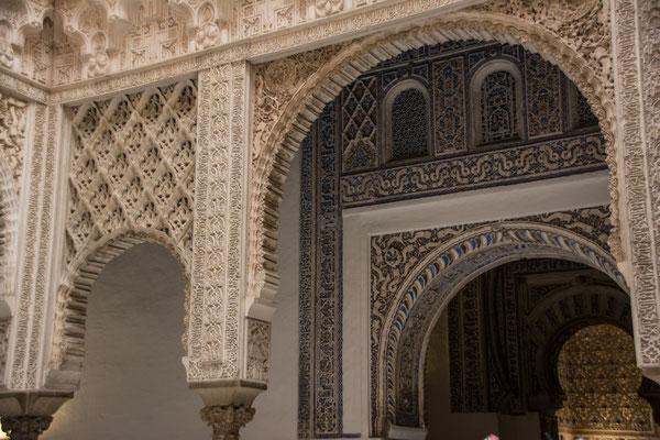 Real Alcazar (Königspalast) in Sevilla