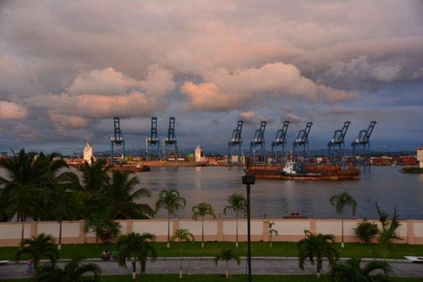 Hafen von Colon