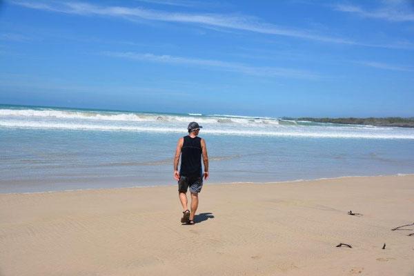 Am Strand von Isabela