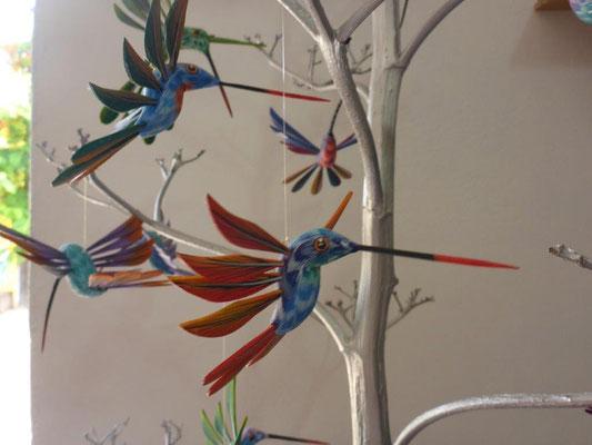 wooden colibris