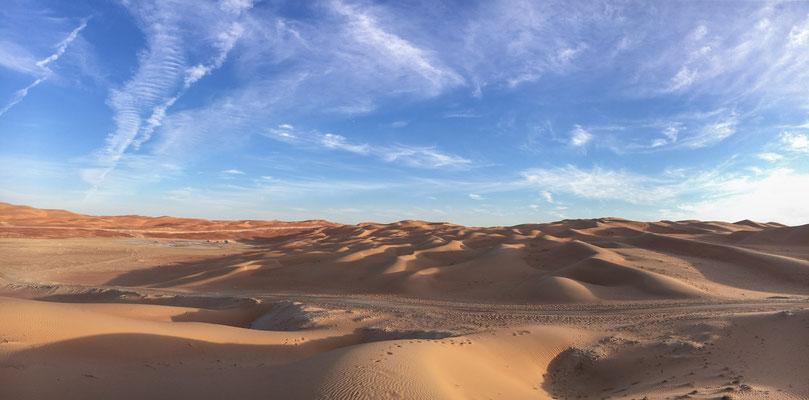 In der Wüste bei Hameed