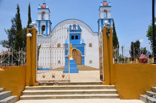Kirche in Atzompa
