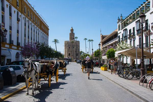Stadtbummel in Sevilla