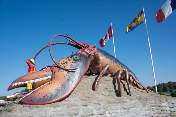 Lobster Monument in Shediac