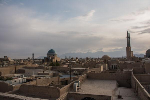 Blick auf Yazd