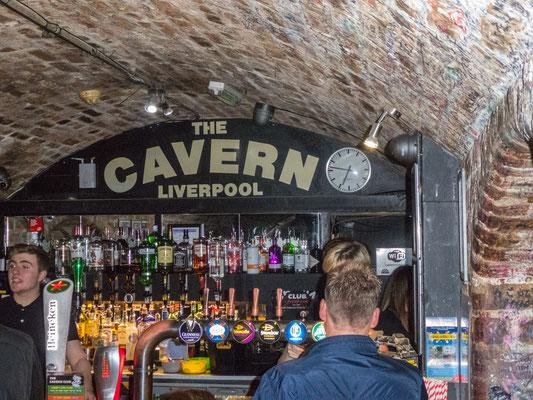 Im Cavern Club, da wo alles begann