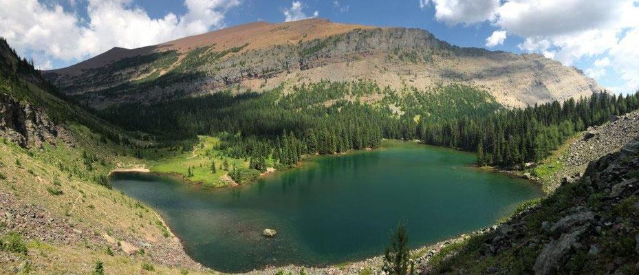 Wanderung zum Goat Lake