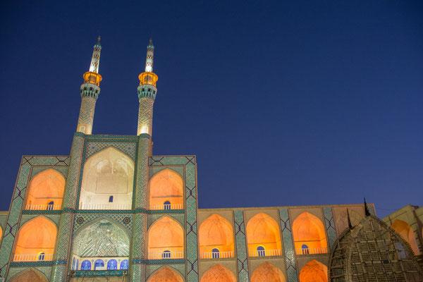 Große Moschee am Abend