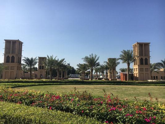Historische Altstadt in Dubai