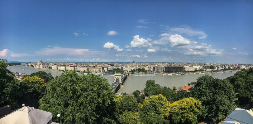 Budapest - Blick vom Burgberg