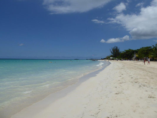 Negril Beach in Jamaica