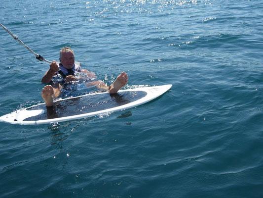 Surf Versuche