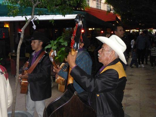 Street musicans in Guanajuato