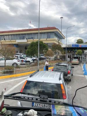 Border Crossing to Greece
