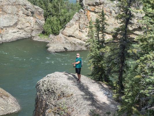 Five Finger Rapids - hier sind wir 1986 durchgepaddelt