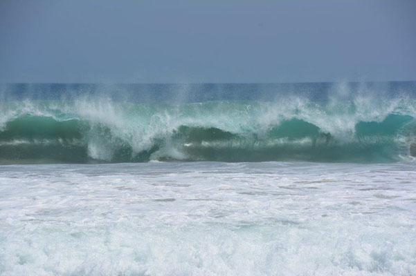 Ganz schön hohe Wellen