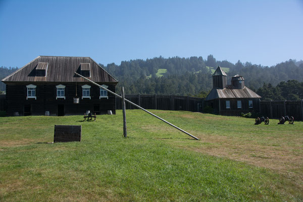 Pacific Coast Highway # 1 - Fort Ross