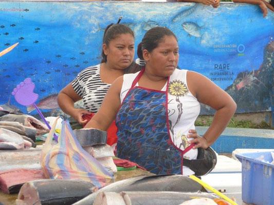 on the fish market