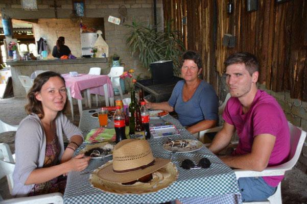 Mittagessen in einem authentischen Lokal