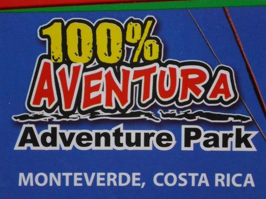 In the adventure park. 100% adrenaline guaranteed.