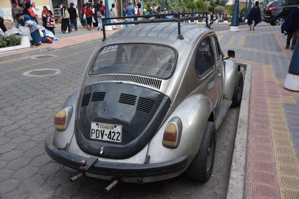 Oldtimer mit breiten Reifen