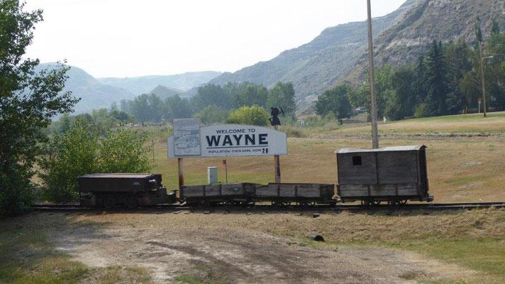 Historischer Ort Wayne