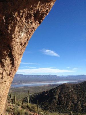 View from Cliff Dwellings to the valley