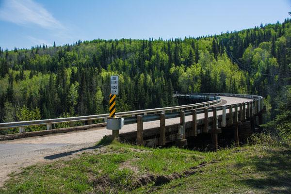 Unterwegs auf dem Alaska Highway