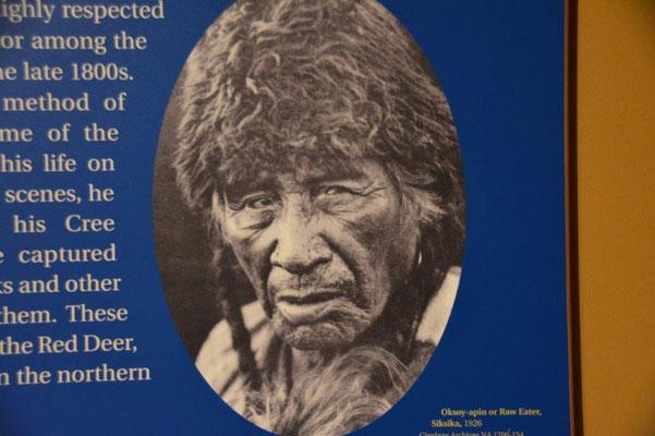 Peter Maffey gesehen im Museum in Calgary