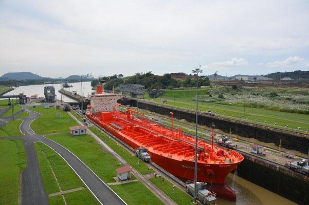 Panama Kanal - Miraflores Schleuse auf der Pazifikseite