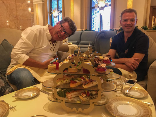 Afternoon Tea im Emerates Palace