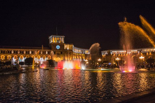 Wasserspiele am Platz der Republik
