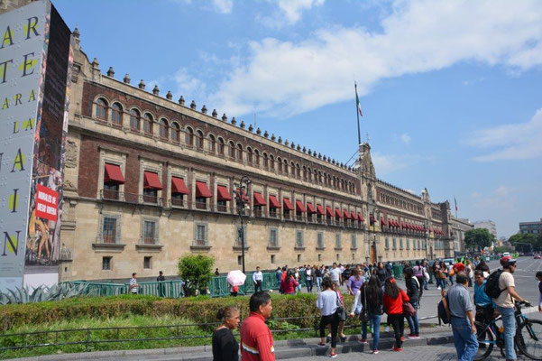 Zocalo - Nationalpalast