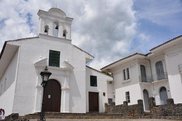 die älteste Kirche in Popayan von 1546
