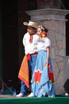 Feiern zum Unabhängigkeitstag in Teotihuacan
