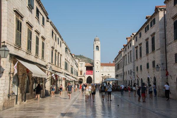 Dubrovnik, Prachtstrasse
