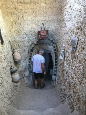 Alte unterirdische Kanäle