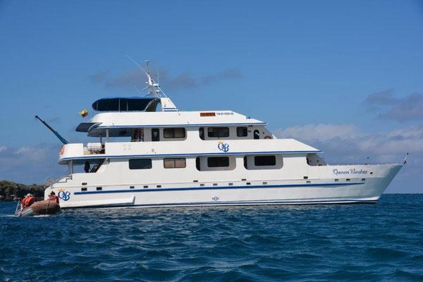 Unser Schiff, die Queen Beatriz