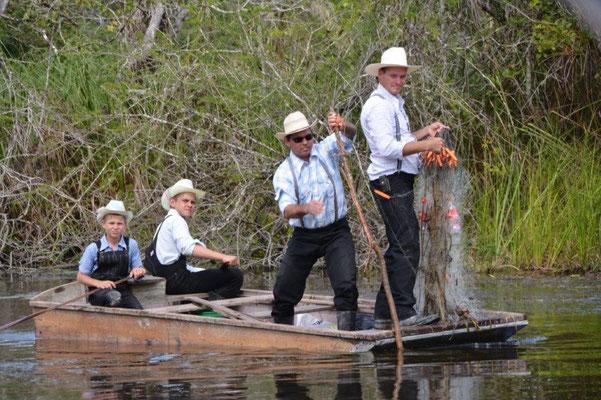 Mennoniten, leben wie vor 100 Jahren