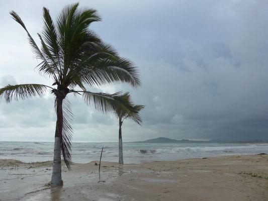 Schlechtes Wetter auf Isabela