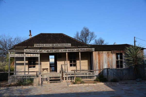 Roy Bean Museum in Langtry