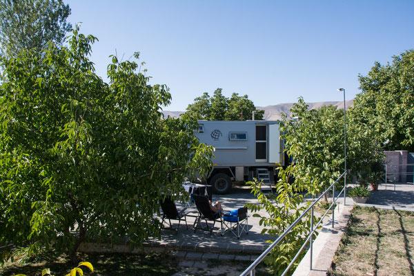Auf dem Campground 3Gs
