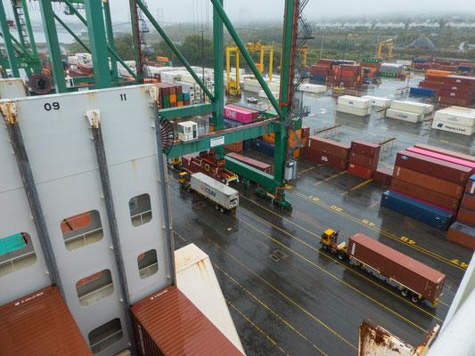 Im Hafen von Halifax