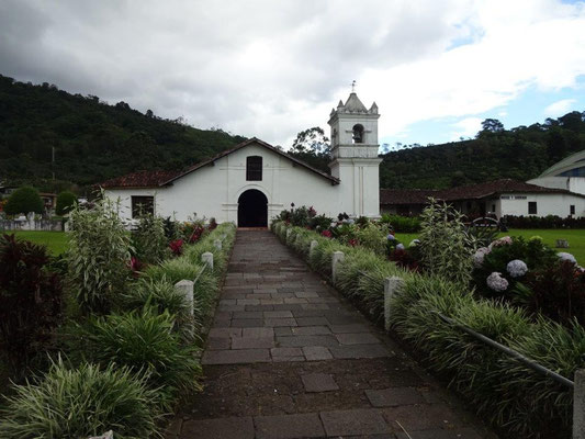 In Orosi - oldest Colonial Church in Costa Rica