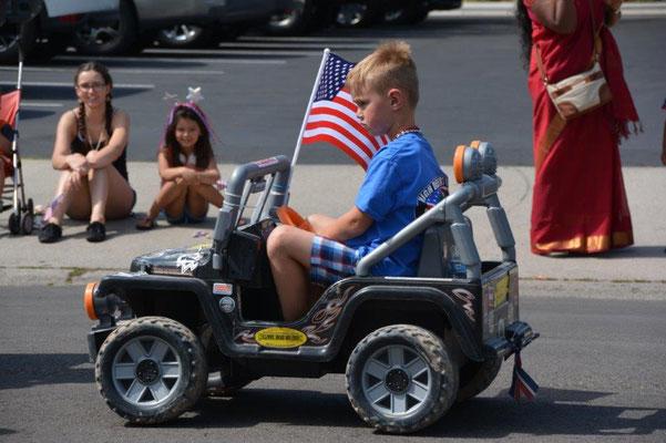 4. Juli Parade in Boise