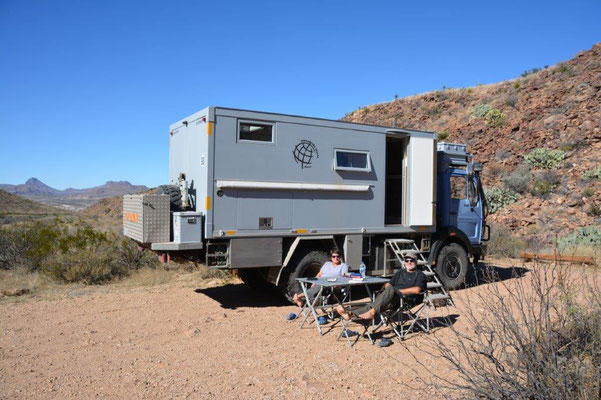 Big Bend National Park - Backcountry Camping